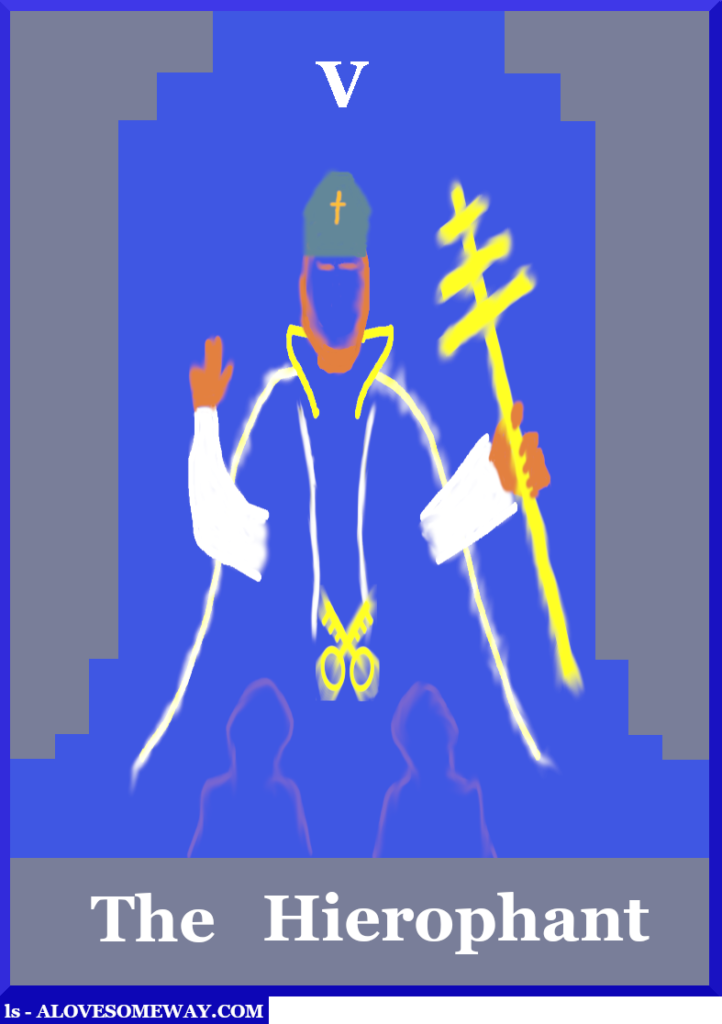 An image of The Hierophant